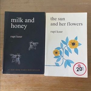 Tupi Kaur: milk and honey + the sun & her flowers
